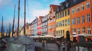 コペンハーゲンの人気スポット、「ニューハウン」