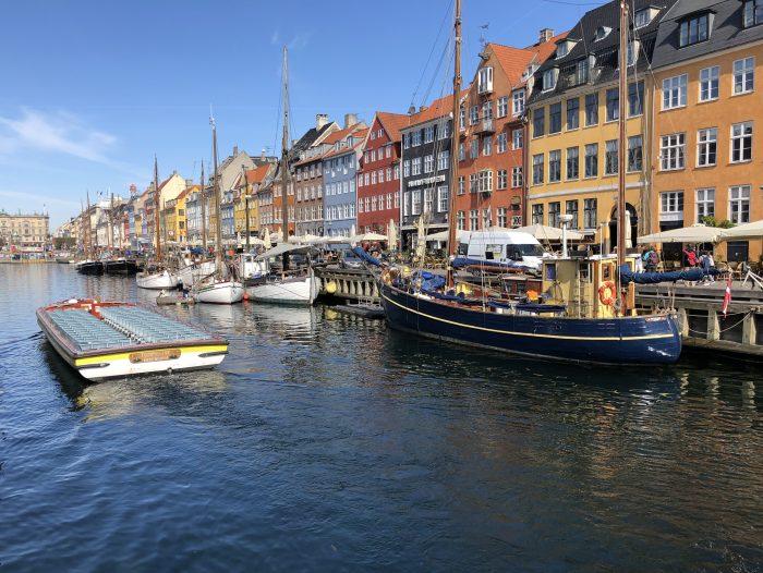 コペンハーゲンの名所「ニューハウン」
