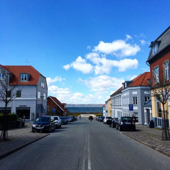 デンマークにあるエーベルトフトという街