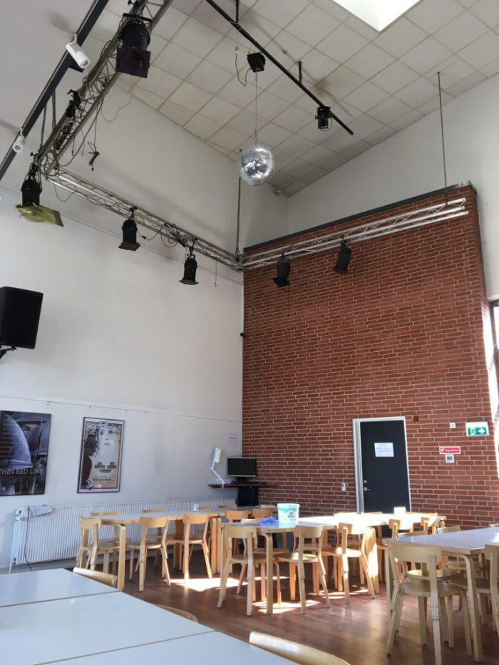 デンマークで初めての映画館