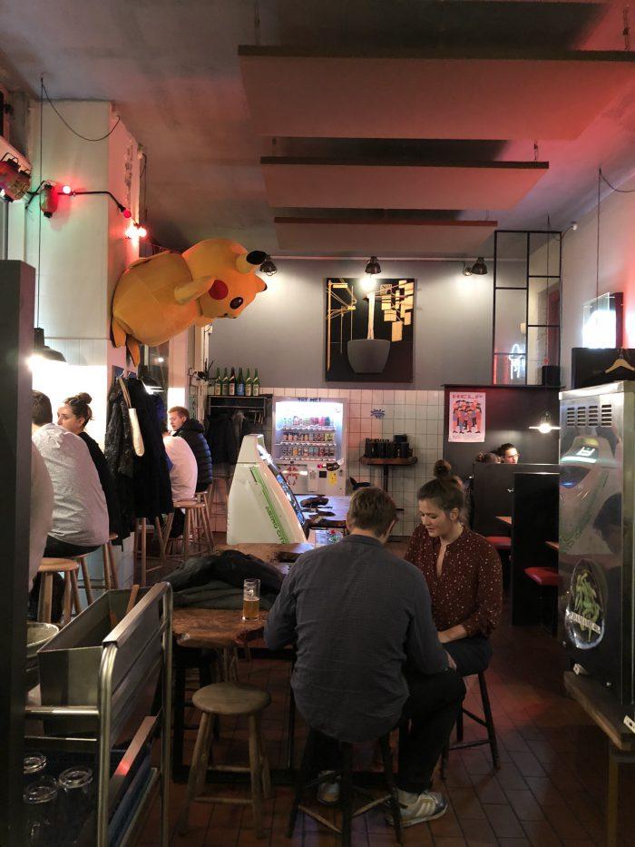 ピカチュウ(らーめんとビール)