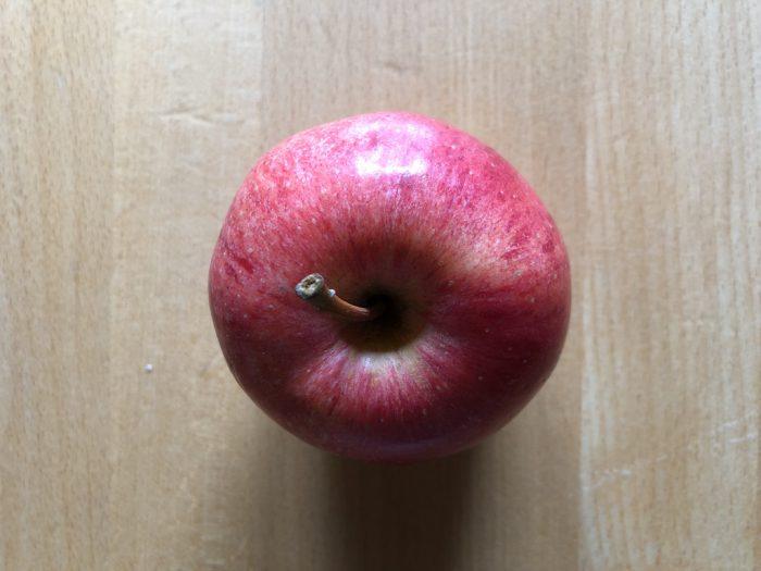 デンマークのりんご