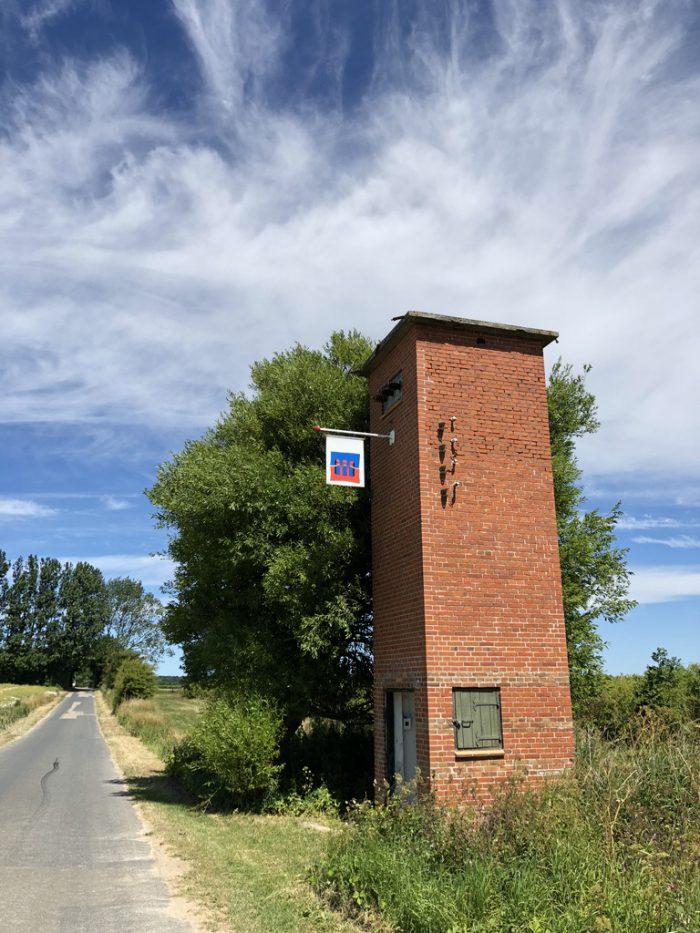 ランゲランのアートタワー