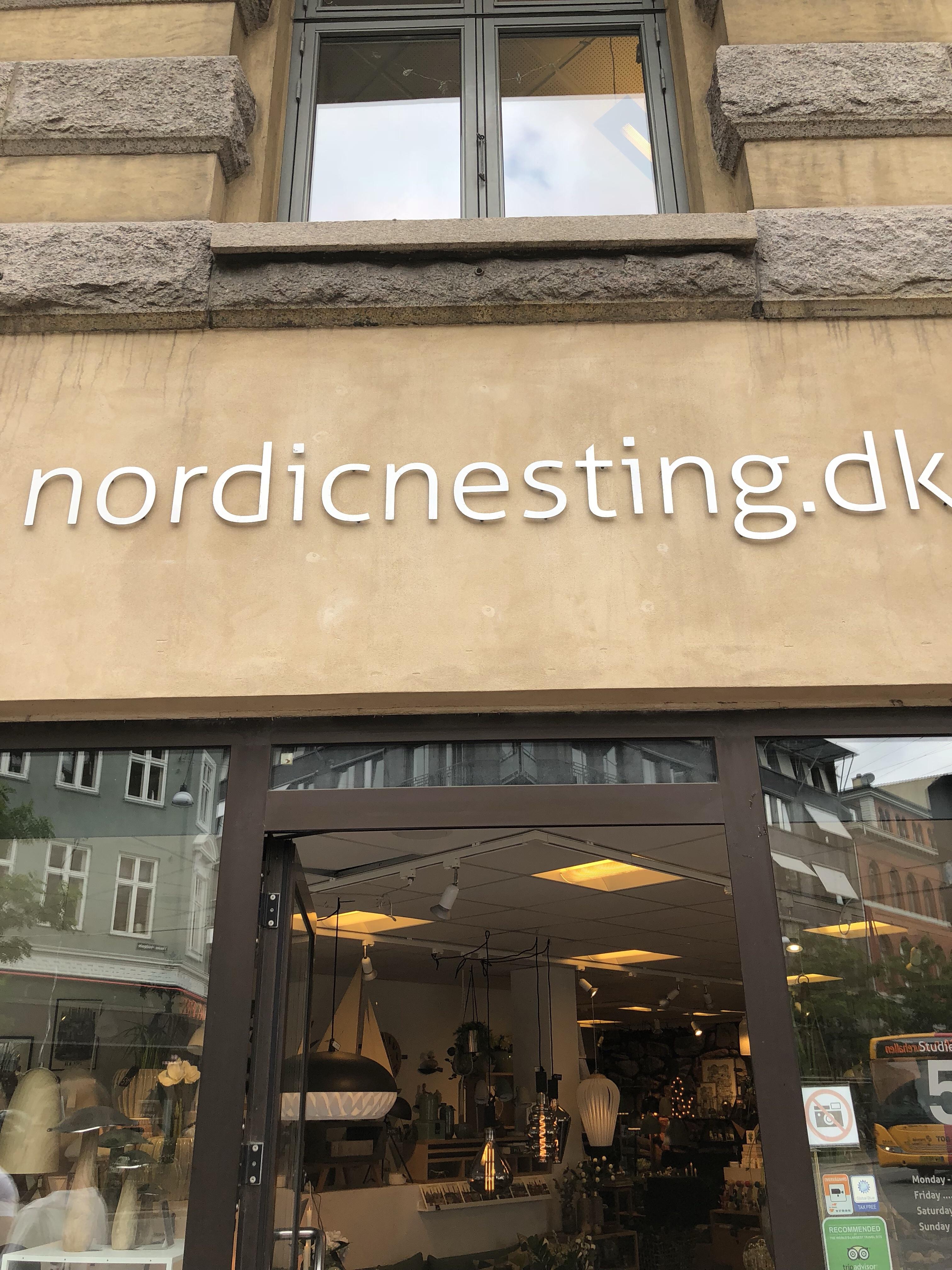北欧インテリアショップ(Nordic Nesting ApS)