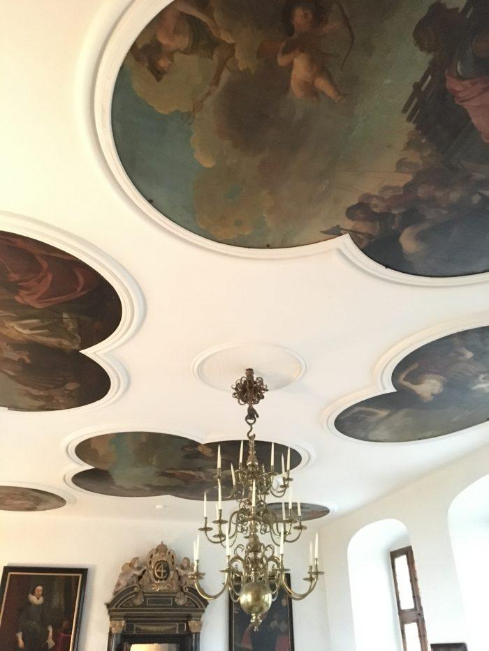美しい天井(クロンボー城)