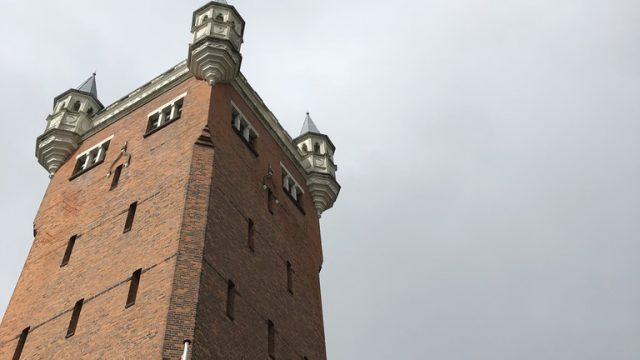 エスビアウの給水塔