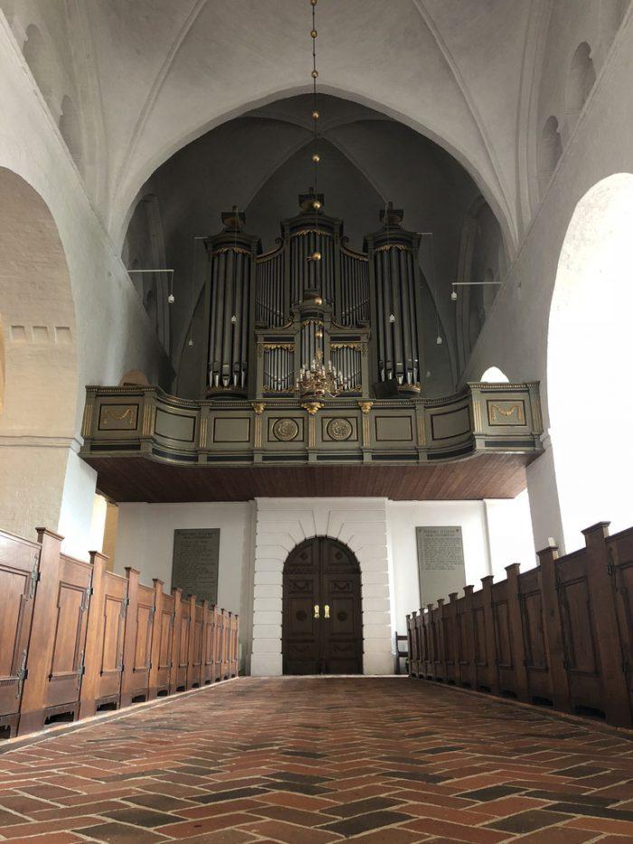 聖カタリナ教会(Sct. Catharinæ Kirke)の中
