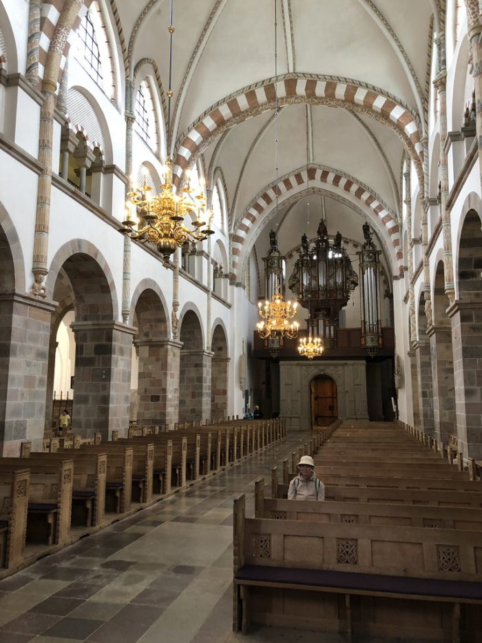 リーベ大聖堂(Ribe Cathedral)の中