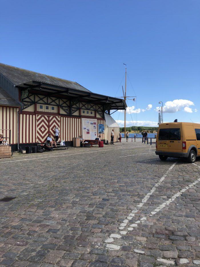スヴェンボーの港