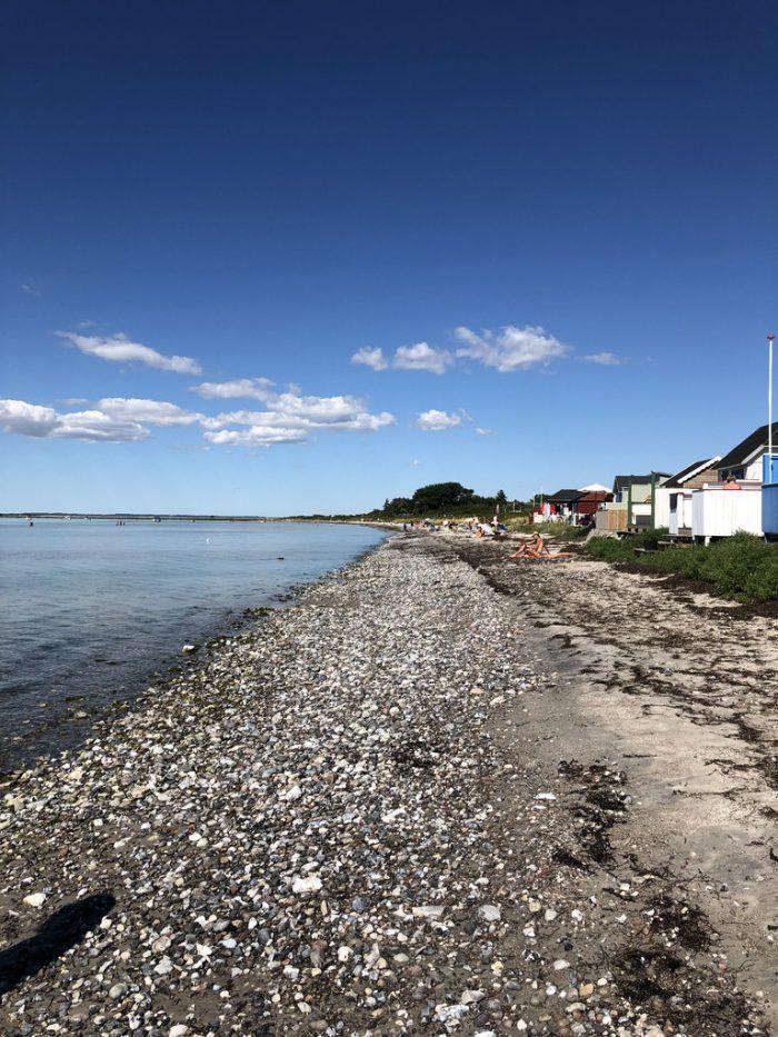 海沿いに並ぶビーチハウス