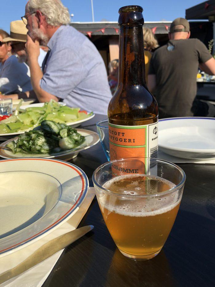 エーベルトフトのビール