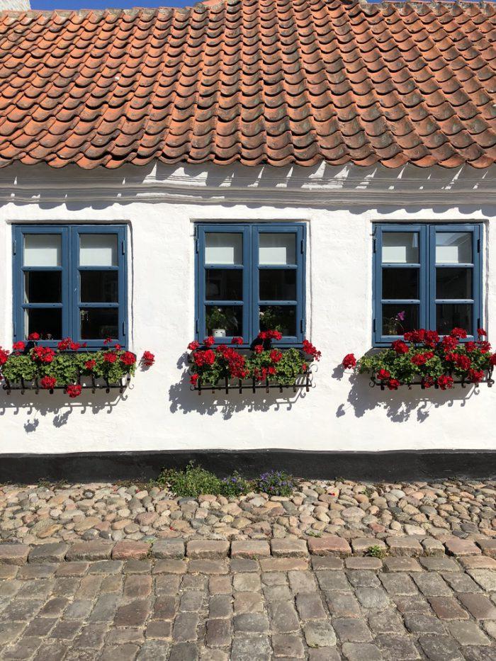 窓と花が可愛い