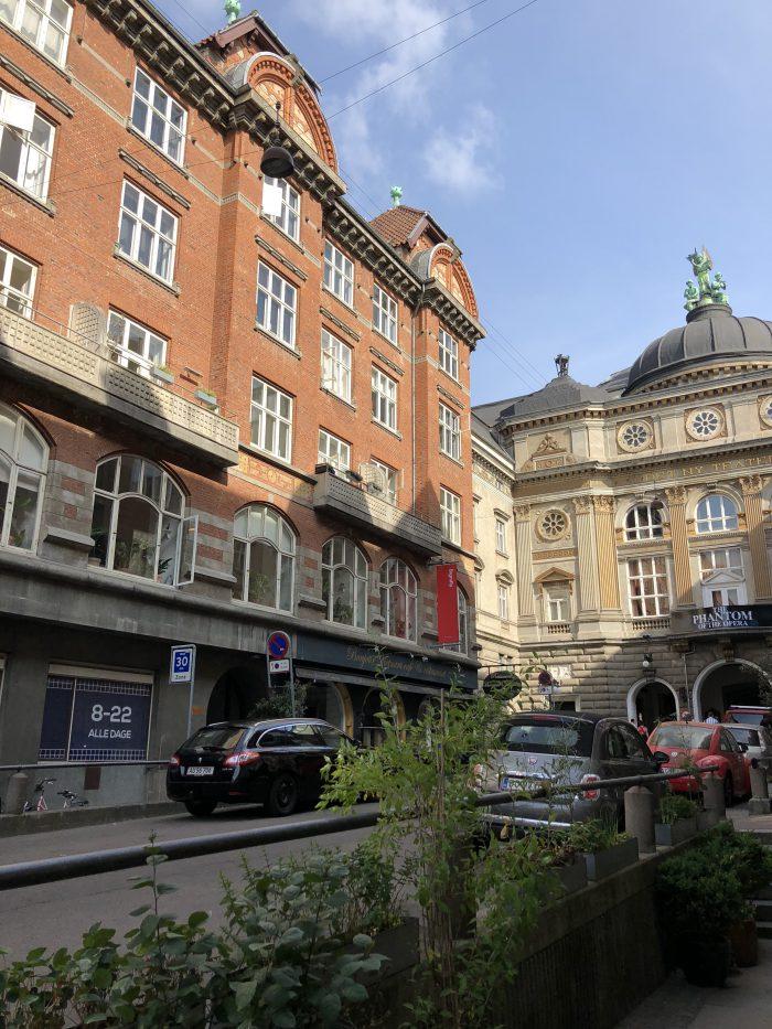 コペンハーゲンの建物