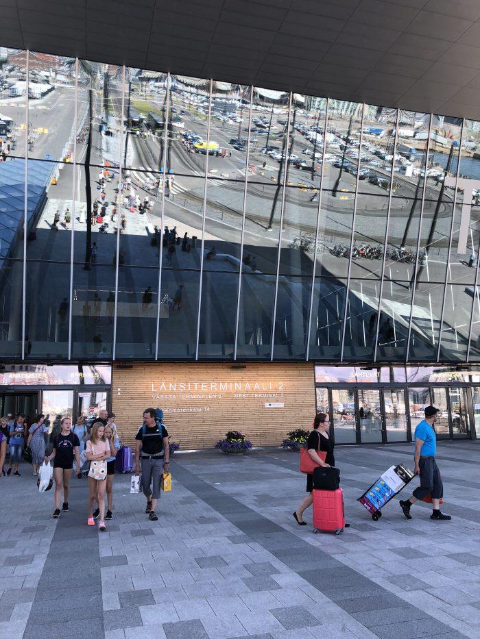 ヘルシンキのWest Terminal