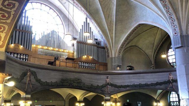 タンペレ大聖堂の中