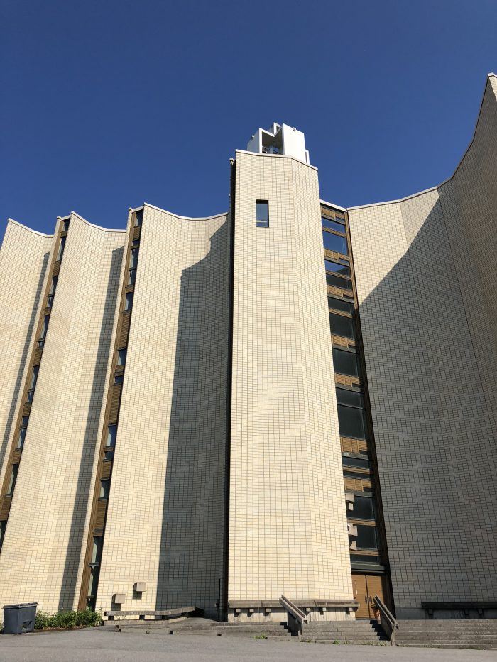 カレヴァ教会の外観