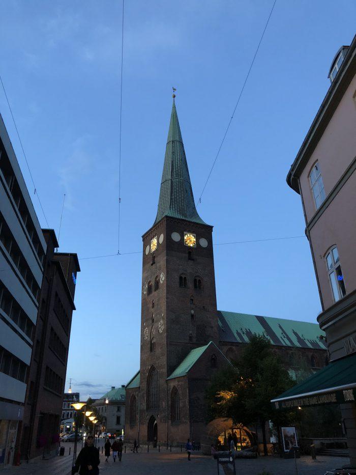 デンマークで一番大きい教会「オーフス大聖堂」