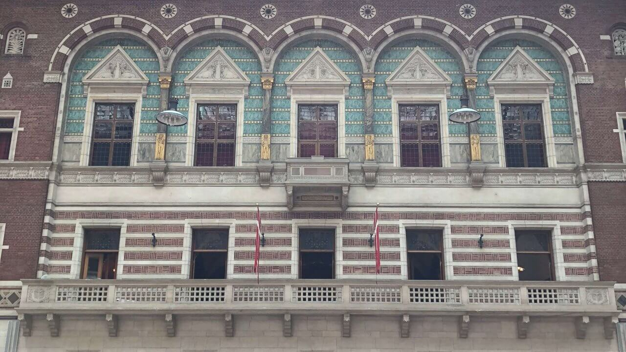 市庁舎の中