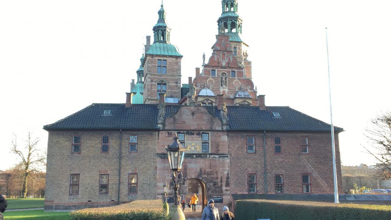 コペンハーゲンの小さなお城、「ローゼンボー城」