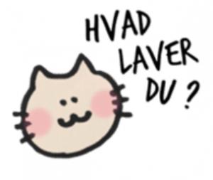 Danishにゃんこ「HVAD LAVER DU?」