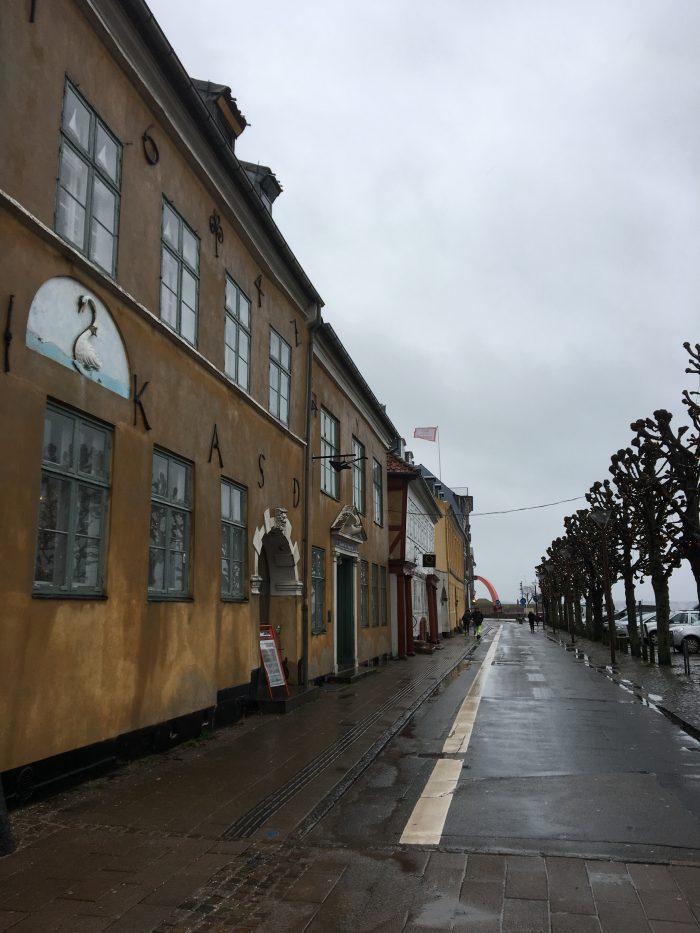 ヘルシンゴーの街を歩く