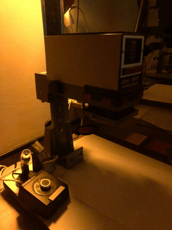 写真を紙に写すためのマシン