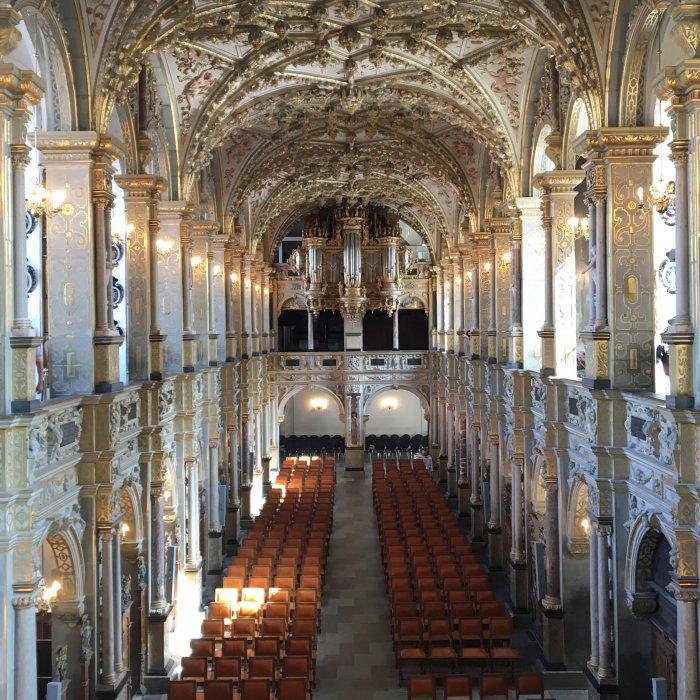 フレデリクスボー城の教会