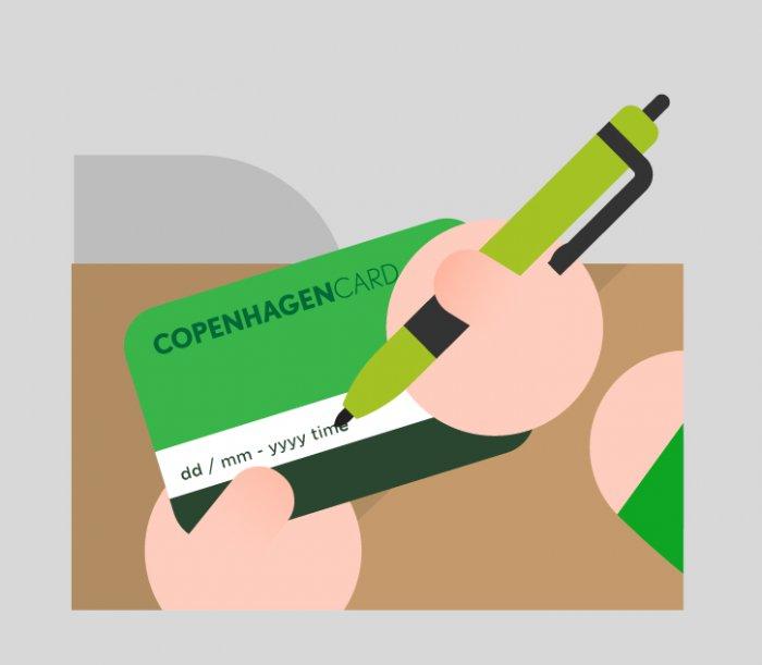 コペンハーゲンカードの使い方