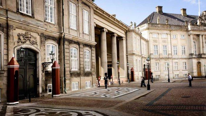 アマリエンボー宮殿 - 博物館がある