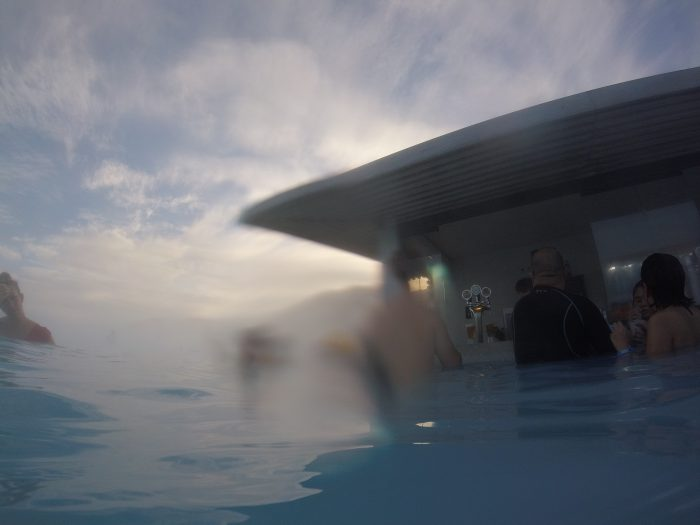 入浴しながらお酒が買えるBlue Lagoon