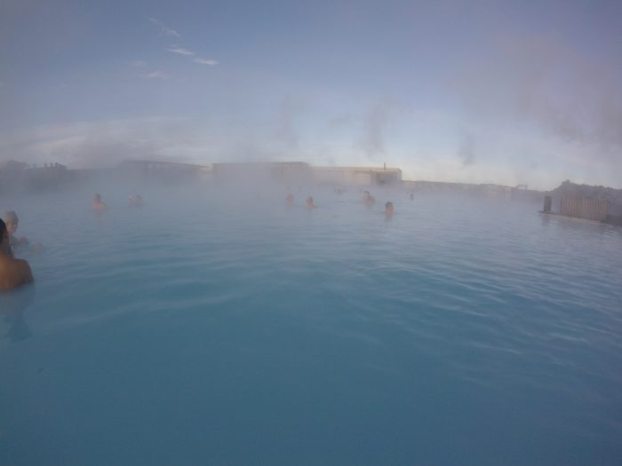 アイスランドにある世界最大の露天風呂、Blue Lagoon