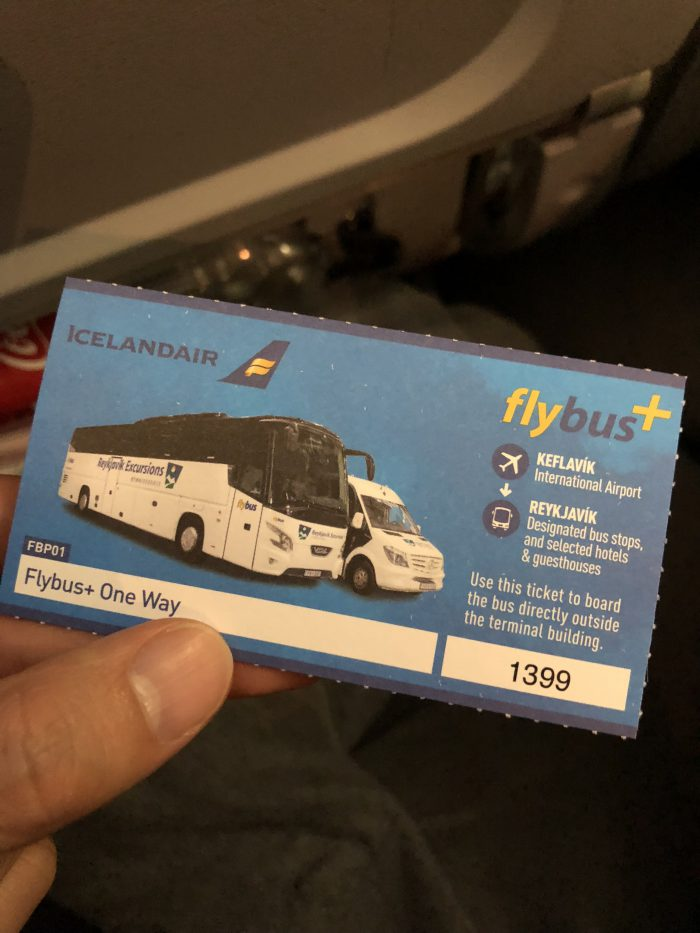flybusのチケット