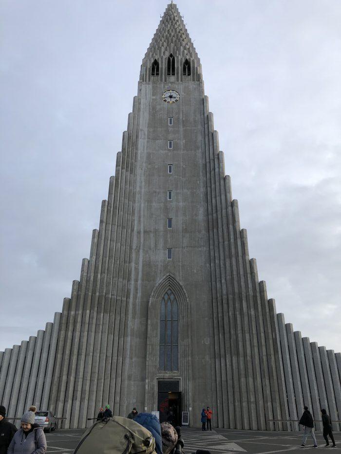 ハットルグリムス教会(正面)