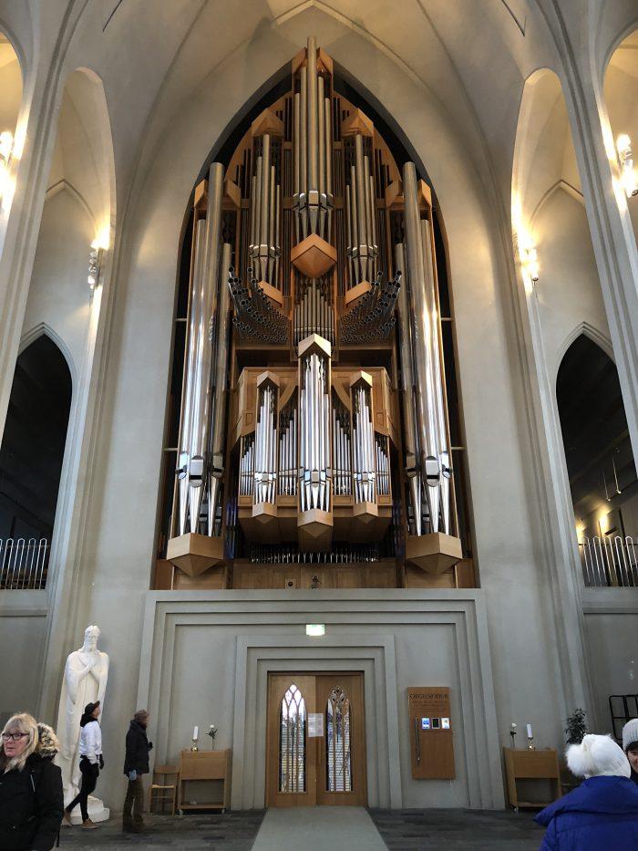 ハットルグリムス教会のパイプオルガン