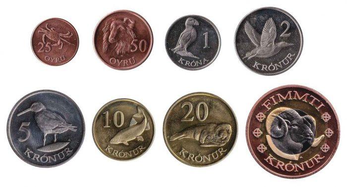 フェロー・クローネのコイン