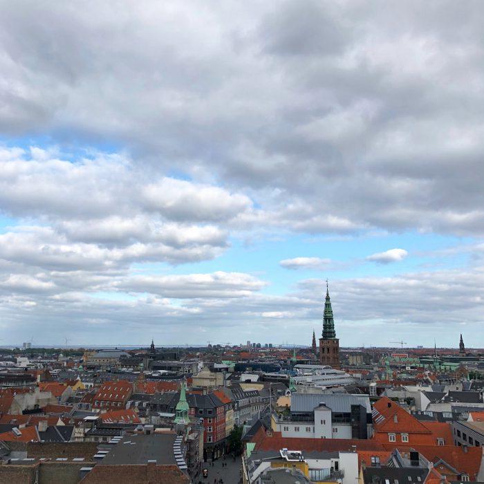 ラウンドタワーから見えるコペンハーゲンの街並み