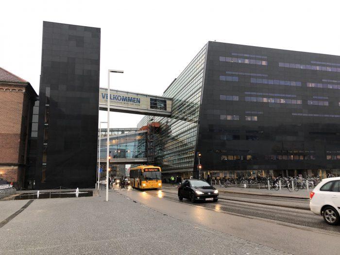 デンマーク王立図書館(ブラックダイヤモンド)