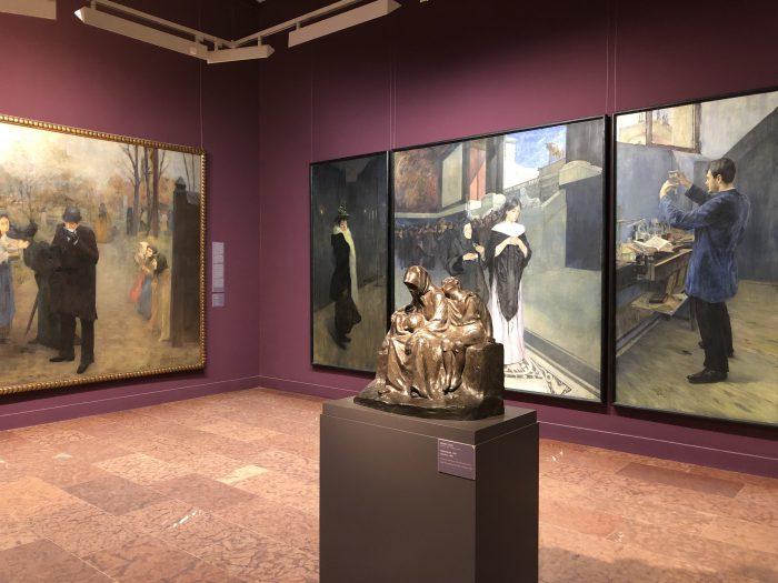 ハンガリー国立美術館の中