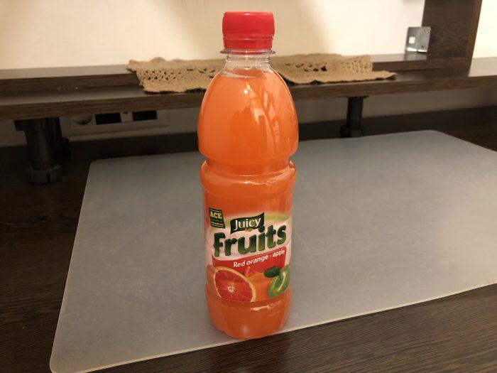 オレンジジュースとりんごジュースの融合