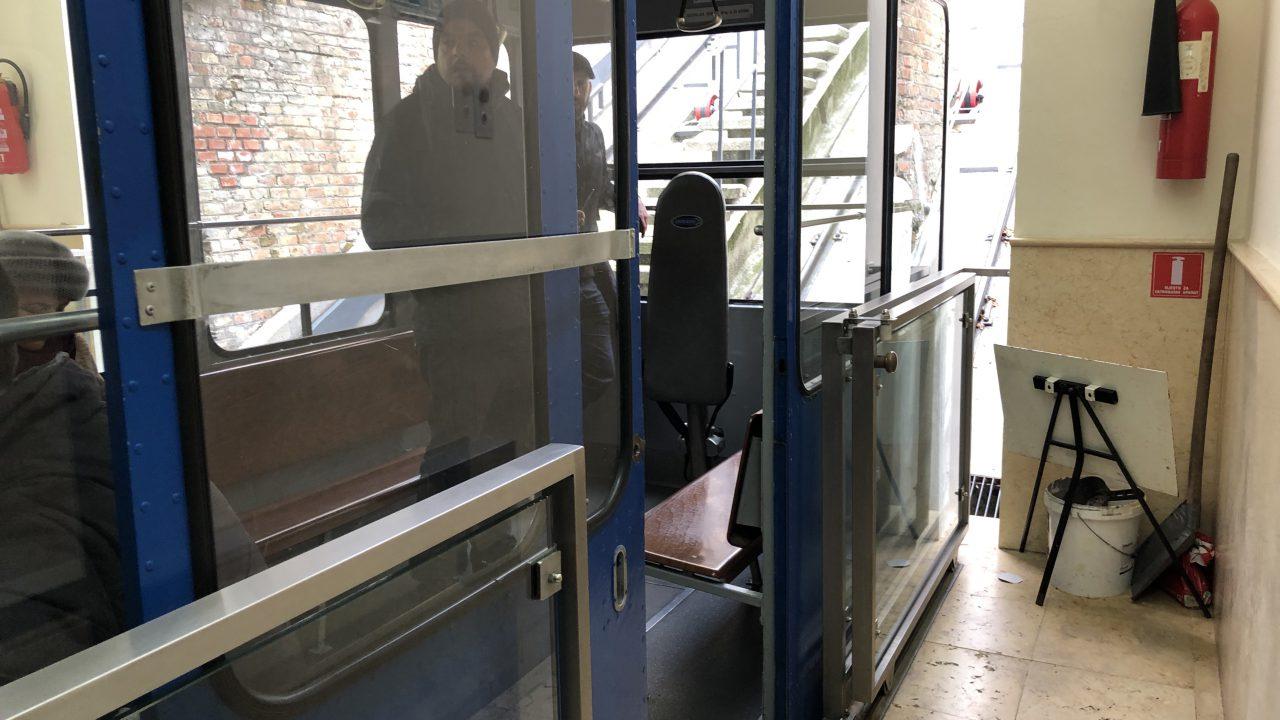 世界一短いケーブルカー(ザグレブ)