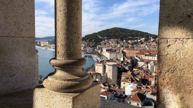 スプリトは世界遺産の街(クロアチア)