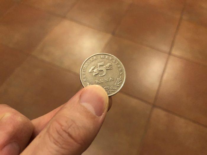 クロアチアの通貨は「クーナ」