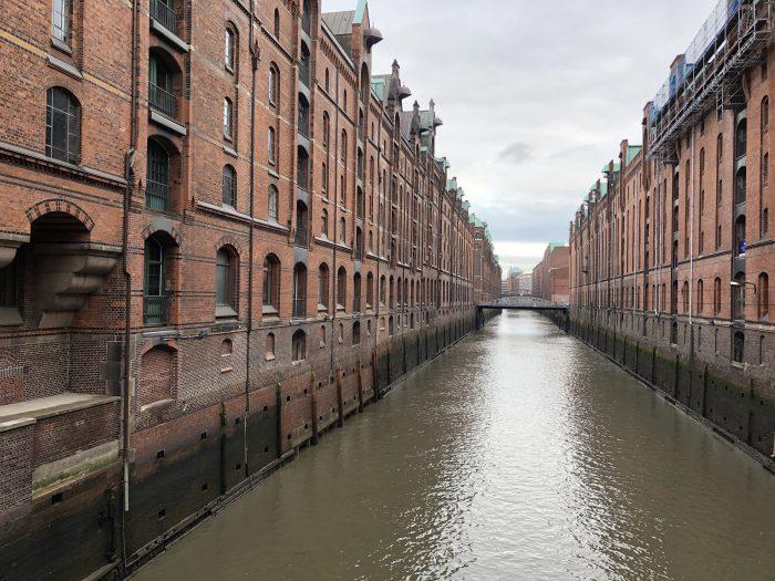 世界遺産に登録されているハンブルクの倉庫街