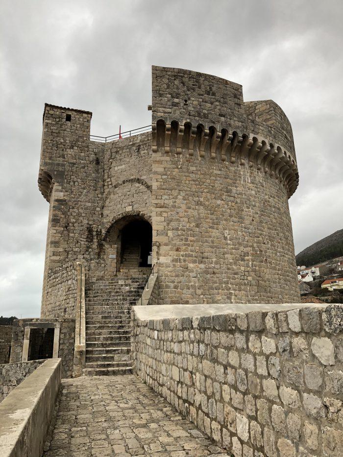 絶景ポイントのミンチェッタ要塞