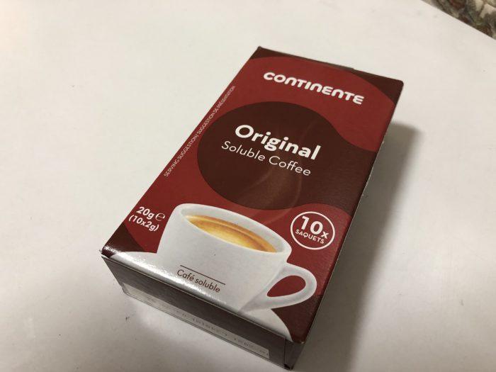 小分けされてるタイプのインスタントコーヒー