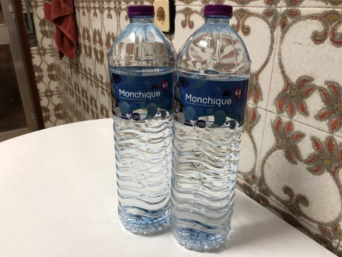 1.5Lの水を2本買う