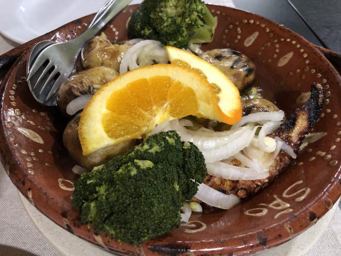 プリップリのタコ(Restaurante São Gonçalo)