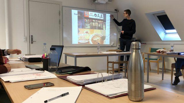 4ヶ月ぶりにデンマーク語クラスの授業へ参加!
