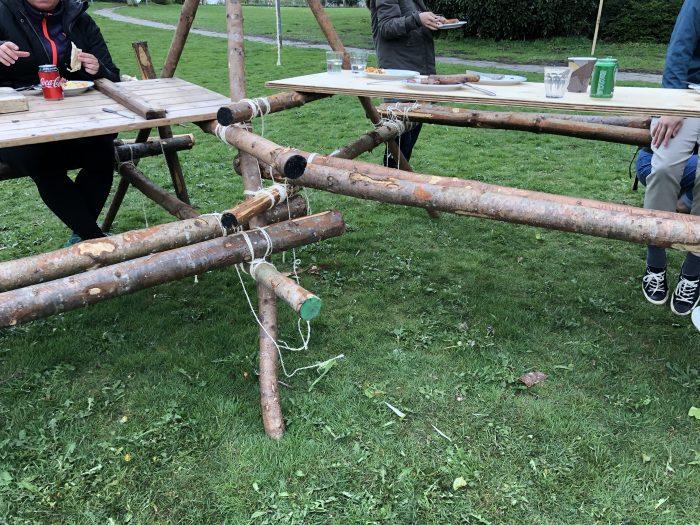 手作りのテーブル&椅子
