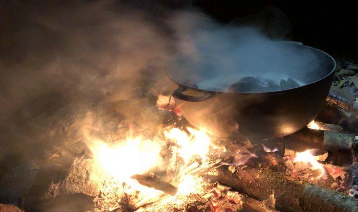 デンマークといえば焚き火